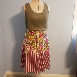 Cato Tank and Skirt Outfit